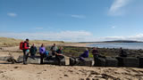 The group near Lower Largo